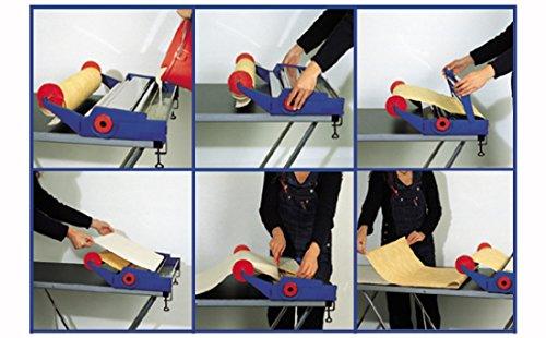 Brechtle Tapetenkleistergerät Edelstahl – Tapetenkleiser Maschine – Meisterklasse – Einkleistern direkt von der Rolle –